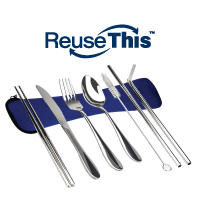 Image of reusable utensils
